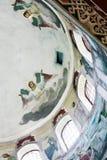 Interiore della chiesa ortodossa Fotografia Stock Libera da Diritti