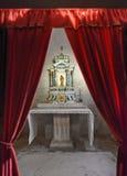 Interiore della chiesa a Trogir nel Croatia Immagine Stock