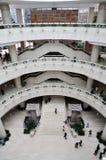 Interiore della costruzione del museo Fotografia Stock Libera da Diritti