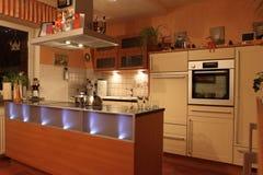 Interiore della cucina Immagine Stock Libera da Diritti