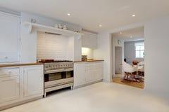 Interiore della cucina Fotografia Stock
