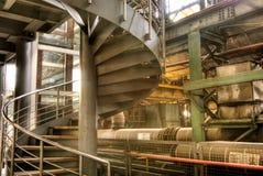 Interiore della fabbrica Immagini Stock Libere da Diritti