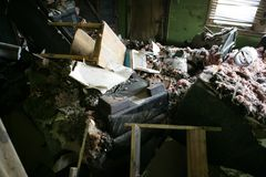 Interiore della mia casa di New Orleans Immagini Stock Libere da Diritti
