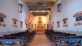 Interiore della missione di San Diego Fotografie Stock