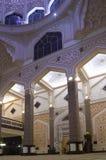 Interiore della moschea di Putra Fotografie Stock