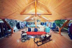 Interiore della sala d'esposizione Fotografie Stock