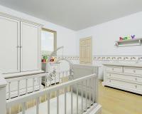 Interiore della scuola materna Fotografie Stock