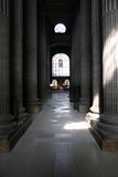 Interiore della st Sulpice Fotografie Stock Libere da Diritti