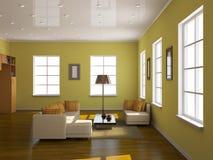 Interiore della stanza Fotografia Stock Libera da Diritti