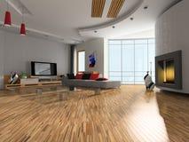 Interiore della stanza Immagine Stock