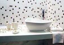 Interiore della stanza da bagno Fotografie Stock
