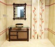 Interiore della stanza da bagno III Fotografia Stock