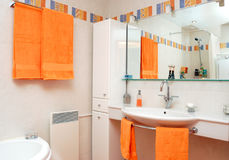 Interiore della stanza del bagno Fotografia Stock