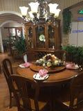 Interiore della stanza di Dinning Fotografia Stock