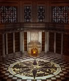 Interiore della torretta di fantasia Immagine Stock Libera da Diritti