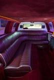 Interiore delle limousine fotografie stock libere da diritti