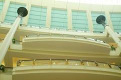 Interiore delle torri gemelle Immagine Stock