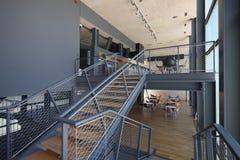 Interiore dello stadio moderno Fotografia Stock Libera da Diritti
