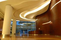 Interiore di architettura della costruzione di affari Fotografie Stock