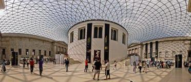 Interiore di British Museum Fotografie Stock Libere da Diritti