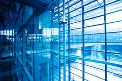 Interiore di costruzione moderna Fotografia Stock