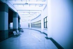 Interiore di costruzione moderna Immagine Stock