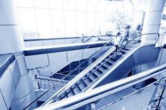 Interiore di costruzione moderna Immagini Stock