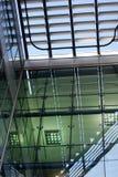 Interiore di costruzione moderna fotografia stock libera da diritti