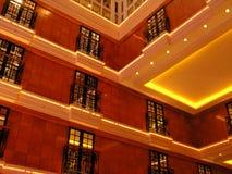 Interiore di Cruiseship Fotografia Stock