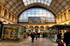 Interiore di Gare de l'Est Fotografia Stock