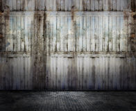 Interiore di Grunge Fotografie Stock Libere da Diritti