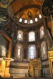 Interiore di Hagia Sophia Fotografia Stock Libera da Diritti