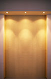 Interiore di illuminazione di Grunge Fotografia Stock Libera da Diritti