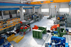 Interiore di industria Immagine Stock
