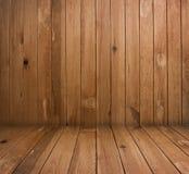 Interiore di legno Fotografie Stock Libere da Diritti