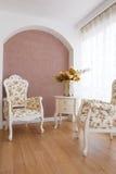 Interiore di lusso classico Immagini Stock