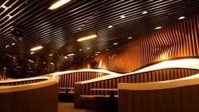 Interiore di lusso del ristorante Fotografia Stock Libera da Diritti