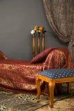 Interiore di Luxurios del boudoir fotografie stock