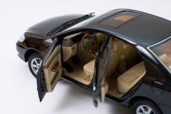 Interiore di modello del Toyota Corolla Immagine Stock Libera da Diritti