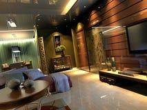 Interiore di stanza Immagini Stock