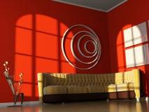 Interiore di stanza Fotografia Stock Libera da Diritti