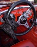 Interiore di un'automobile classica del cabriolet Fotografia Stock Libera da Diritti