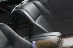 Interiore di un'automobile di lusso Fotografie Stock Libere da Diritti