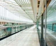 Interiore di un centro commerciale Fotografia Stock