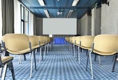 Interiore di un palazzo del congresso Fotografia Stock Libera da Diritti