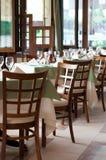Interiore di un ristorante Fotografie Stock Libere da Diritti