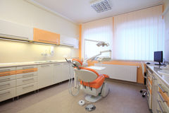 Interiore di un ufficio dentale Fotografie Stock Libere da Diritti