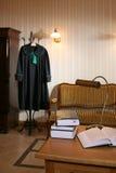 Interiore di un ufficio di legge Immagini Stock Libere da Diritti