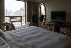 Interiore di una camera di albergo Fotografia Stock Libera da Diritti