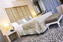 Interiore di una camera di albergo in Kemer, Antalya fotografie stock